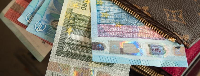 Geld als Zuschuss-Leistung